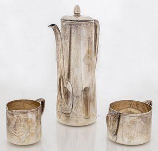 Tiffany & Co. Silver Tea Service, 3 Pieces