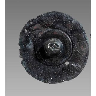 Ancient Roman Bronze shield boss c.2nd century AD.