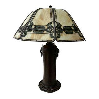Signed Handel Table Lamp