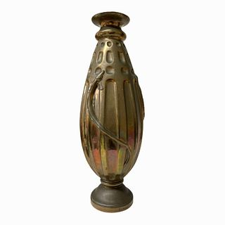 Attributed EDGAR BRANDT (1880-1960) Vase