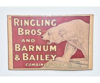 1921 Circus Poster