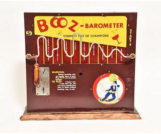 Novelty 'Booz-Barometer'