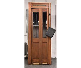 Mahogany Bell Telephone Booth