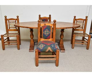 Alpine Style Table and Chairs