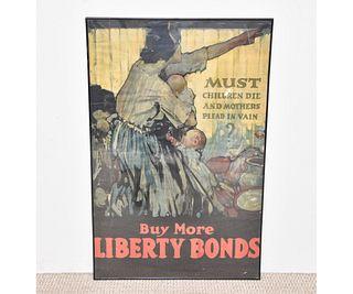 Poster - Buy More Liberty Bonds