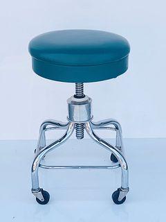 Swivel & Height Adjustable Stool w/ Casters