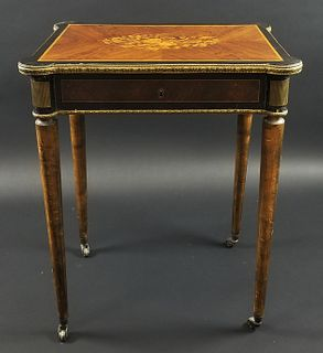 Late 19th C. Directoire Style Gilt Bronze Mounted