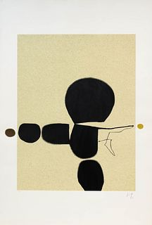 Victor Pasmore  (British, 1908-1998) Points of Contact No. 24, 1974