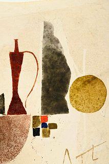 Julius Bissier (German, 1893-1965) 4 Oct 61 (Lambda Pi Gamma), 1961