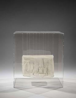 Rachel bas-Cohain (American, 1937 - 1982) After Giorgio Morandi: Nature Morte, 1981