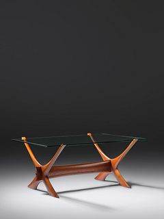 Illum Wikkelso, Attribution Mid 20th Century Coffee Table