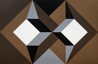 Rinaldo Paluzzi (American, 1927-2013) Spacial Construction, 1973