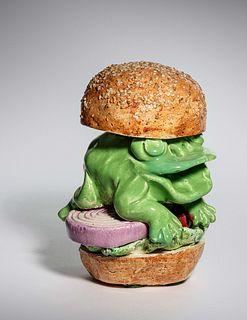 David Gilhooly (American, 1943-2013) Frog Sandwich