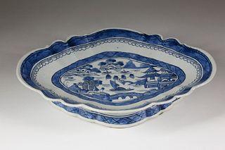 Canton Curry Bowl, circa 1840