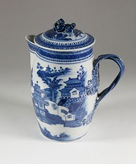 Nanking Cider Pitcher, late 18th Century