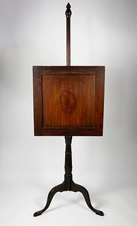 Queen Anne Connecticut River Valley Pole Screen, 18thCentury