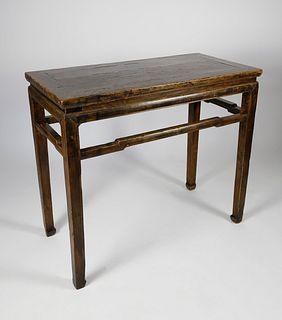 Chinese Elmwood Altar Table, 18thCentury