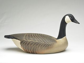 Impressive Canada goose, Ward Brothers, Crisfield, Maryland.