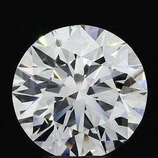 5.51 ct., F/VVS2, Round cut diamond, unmounted, MGS-021-08