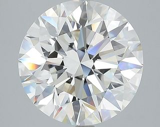 5.45 ct., H/VVS2, Round cut diamond, unmounted, IM-451-025-02