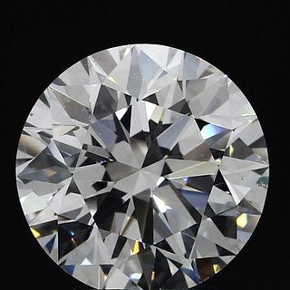 4.06 ct., F/VS2, Round cut diamond, unmounted, PP8800-63