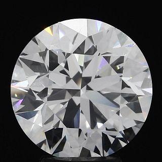 4.01 ct., F/VS1, Round cut diamond, unmounted, VM-0921