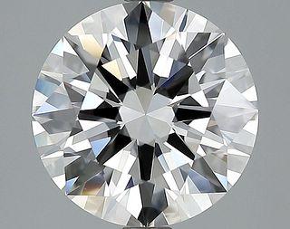 3.83 ct., E/VVS2, Round cut diamond, unmounted, IM-224-023