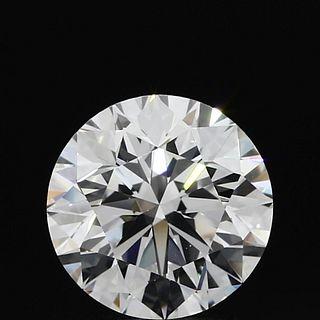 2.13 ct., D/VS1, Round cut diamond, unmounted, PP7651-01