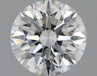 1.52 ct., D/VVS2, Round cut diamond, unmounted, GM-0152