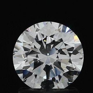 1.22 ct., E/VVS2, Round cut diamond, unmounted, GM-0122