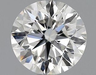 1.17 ct., I/VVS1, Round cut diamond, unmounted, GSD-0257