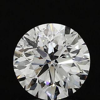 1 ct., D/SI2, Round cut diamond, unmounted, GM-0276