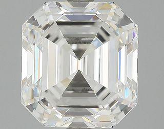 3.12 ct., E/IF, Emerald cut diamond, unmounted, GSD-0028
