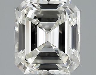 3.07 ct., I/VS1, Emerald cut diamond, unmounted, YG-2151