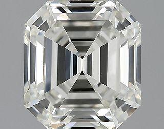 3.04 ct., J/VVS2, Emerald cut diamond, unmounted, GSD-0186