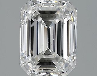 3.02 ct., D/SI1, Emerald cut diamond, unmounted, IM-90-045-04
