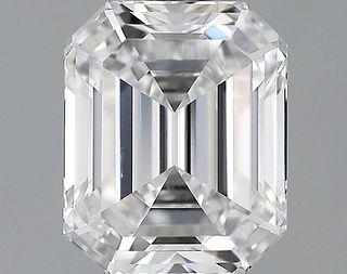 1.65 ct., D/IF, Emerald cut diamond, unmounted, GSD-0222