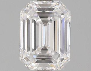 1.5 ct., D/VVS1, Emerald cut diamond, unmounted, GSD-0060
