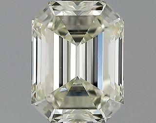 1.13 ct., N/VS2, Emerald cut diamond, unmounted, GSD-0263