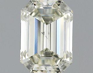 1.1 ct., N/VS2, Emerald cut diamond, unmounted, GSD-0276