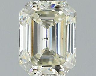 1.07 ct., M/SI2, Emerald cut diamond, unmounted, GSD-0084