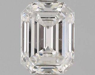 1.05 ct., G/SI2, Emerald cut diamond, unmounted, GSD-0086