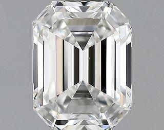 1.04 ct., F/IF, Emerald cut diamond, unmounted, GSD-0303