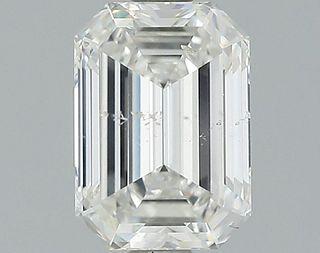 1.03 ct., G/SI2, Emerald cut diamond, unmounted, GSD-0100