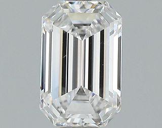 1.02 ct., D/IF, Emerald cut diamond, unmounted, GSD-0106