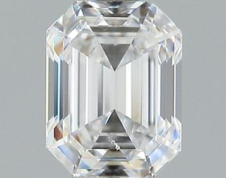 1.02 ct., D/SI1, Emerald cut diamond, unmounted, GSD-0107