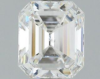 1.02 ct., F/SI2, Emerald cut diamond, unmounted, GSD-0110