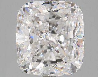 5.01 ct., F/SI1, Cushion cut diamond, unmounted, IM-60-156-04