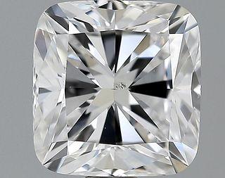 2.02 ct., E/SI1, Cushion cut diamond, unmounted, PK1735-02
