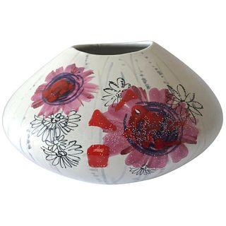 Rare Alvino Bagni for Raymor Italy Modernist Flower Power Vase
